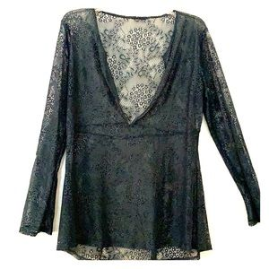 Other - Forest green lace swimsuit cover up.